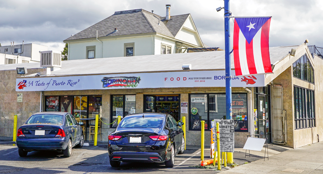 2 Star Market: fine wines and beer, grocery items, and Borinquen Soul Puerto Rican restaurant
